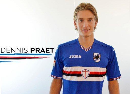 Praet is a fine talent | Photo: sampdoria.it