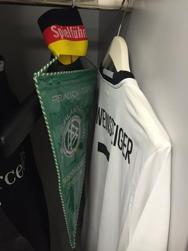 La maglia di Schweini | Foto: @DFB_Team