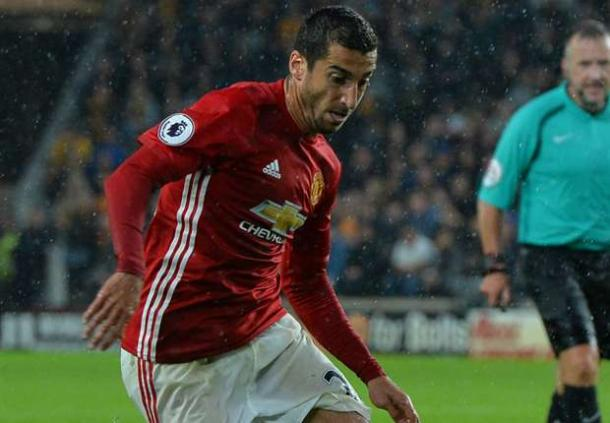 Mkhitaryan changed the game against Hull last weekend | Photo: Getty