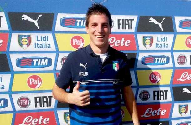 Alessio Cragno in Under 21. Fonte foto: vivoazzurro.it