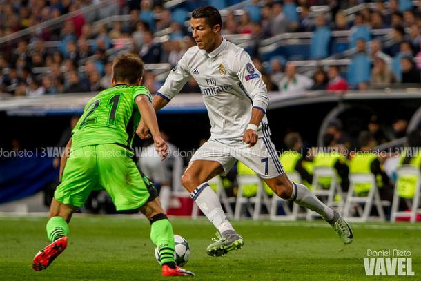 Cristiano suma 11 asistencias, seis de ellas en Champions. | FOTO: Daniel Nieto - VAVEL