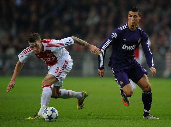 Ronaldo durante el partido de la fase de grupos de 2010 frente al Ajax   Foto: UEFA.com