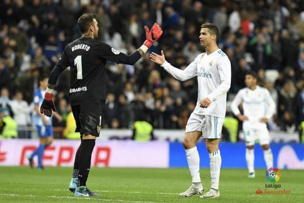 Roberto y Cristiano Ronaldo | La Liga