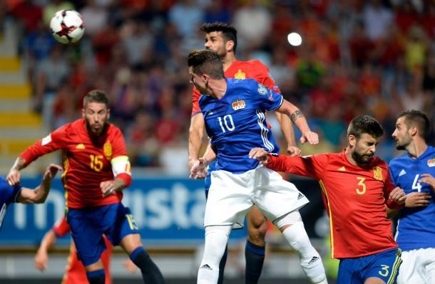 L'1-0 di Diego Costa | Foto: @ESPNFC