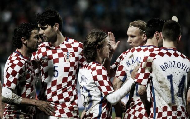 Croatas buscam fazer melhor campanha da história e alcançar a fase semifinal pela primeira vez desde que começou a disputar a Euro (Foto: Srdjan Stevanovic/Getty Images)