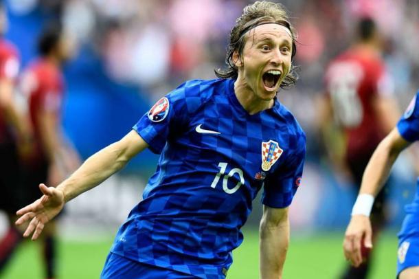 Luka Modric en la selección