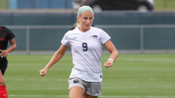 Penn State University forward Frannie Crouse was the first player selected by the Courage in the 2018 NWSL College Draft. | http://www.gopsusports.com