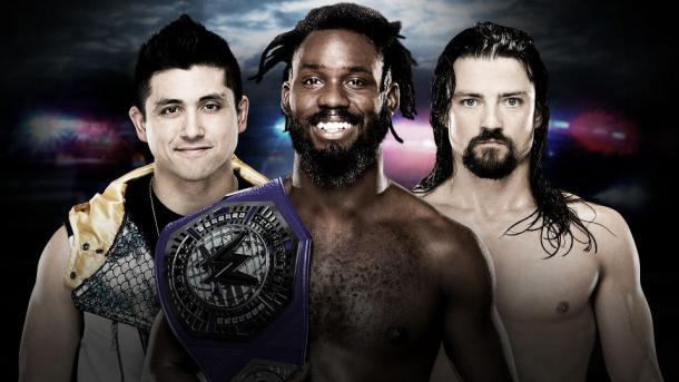 Who will walk away Cruiserweight Champion? Photo- WWE.com