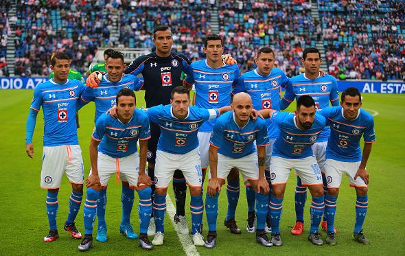 Cruz Azul team photo before their match against Chivas / Hector Vivas - LatinContent/Getty Images