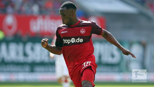 Osayamen Osawe took just six minutes to score off of the bench. (Photo: Bundesliga)