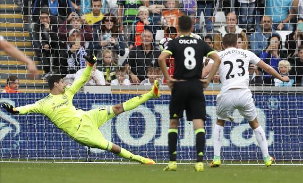 Il pareggio su rigore di Sigurdsson| Foto: premierleague.com