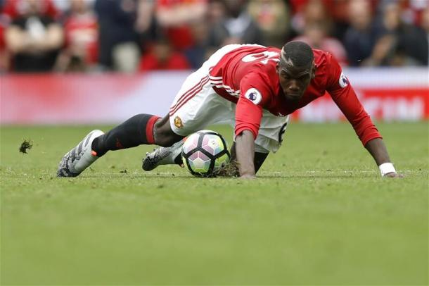 Pogba has been heavily criticised for his performance against Manchester City on Saturday | Photo: Getty