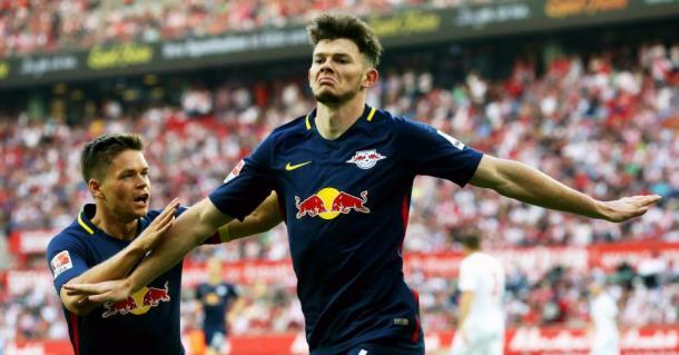 Oliver Burke. Pagato 15 milioni, segna all'esordio dopo cinque minuti per il suo RB Lipsia.