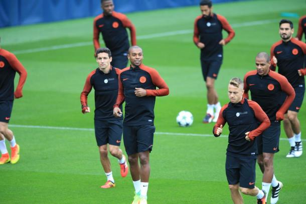 L'allenamento del City - Foto: Manchester City/Twitter