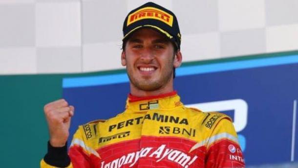 Antonio Giovinazzi, dalla prossima stagione terzo pilota ferrari. Fonte foto: gazzetta.it