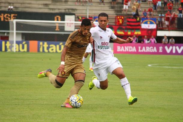 Leão teve dois tempos distintos e acabou derrotado de virada (Foto: Williams Aguiar/Sport)
