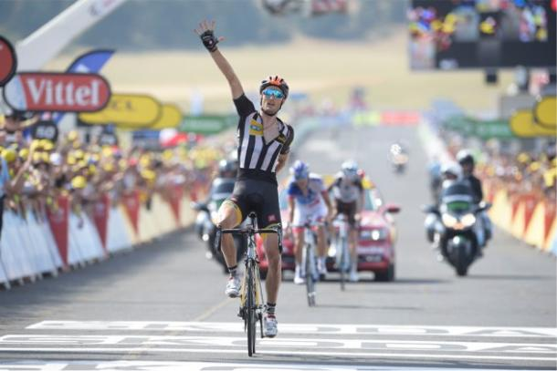 Cummings wins Stage four of Tour de France last year / Cycling Weekly