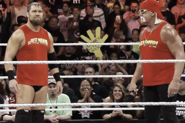 Curt Axel ran wild with Axelmania - a sign Hogan is returning source: daily mirror