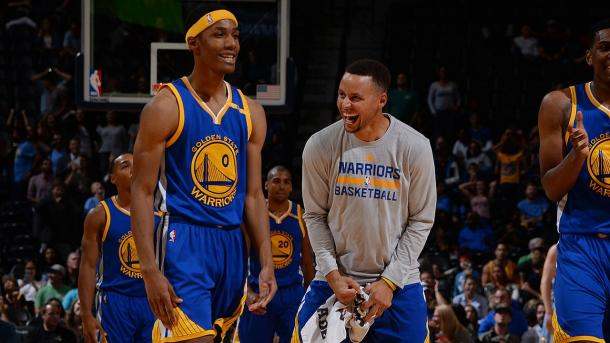 Patrick McCaw y Stephen Curry | Foto: Golden State Warriors