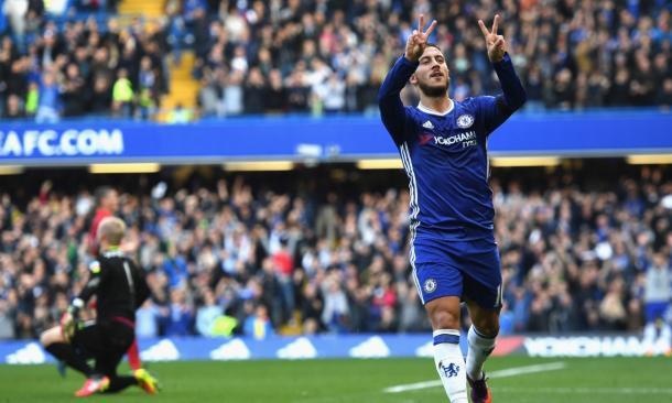 Eden Hazard | Fonte: twitter.com/cmdotcom