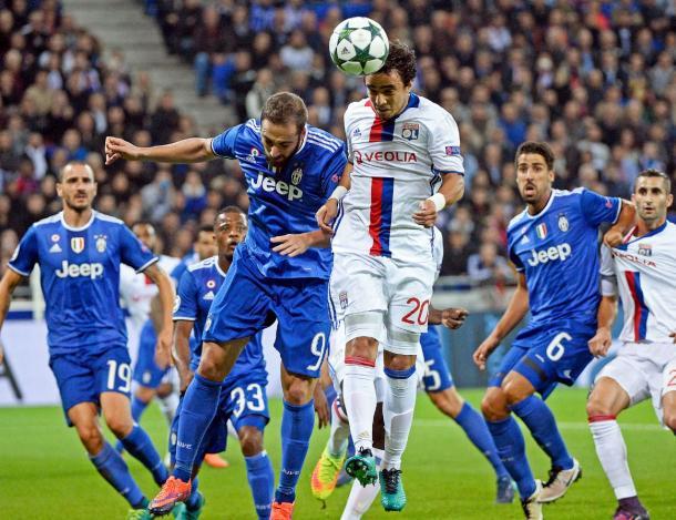 Lione-Juventus   Foto: @OL