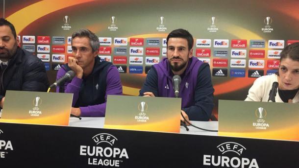 Sousa e Tomovic - europa league