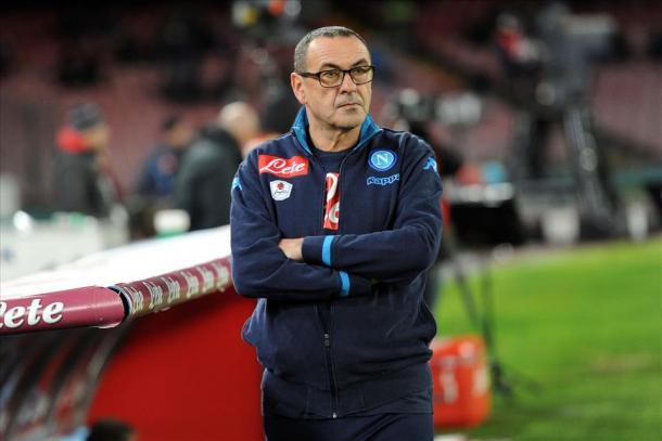 Maurizio Sarri | Fonte: twitter.com/NClivecom