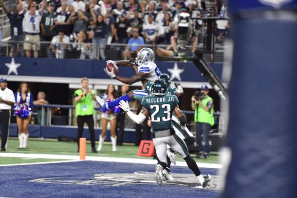 Dez Bryant makes a great play for the Cowboys | Source: dallascowboys.com