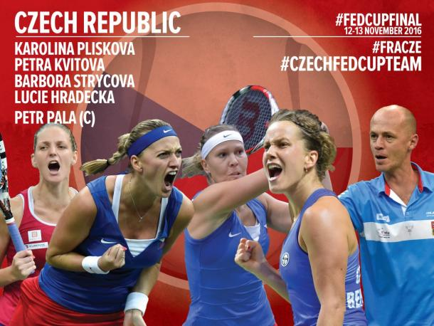 Czech team nominated for the finals | Photo: Fed Cup