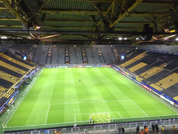 Westfalenstadion | Twitter: @SportingCP