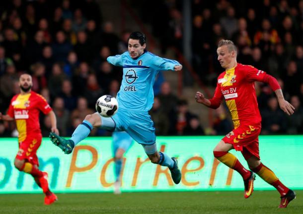 Feyenoord contra Go Ahead en su último partido como visitante. Foto:Feyenoord.