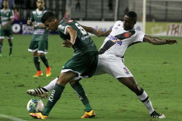 Verdão acha empate na persistência e arranca resultado (Foto: Paulo Fernandes/Vasco.com.br)
