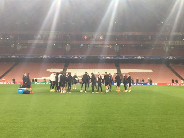 Allenamento del PSG - Fonte: psg.fr
