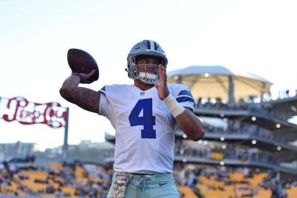 Dak Prescott has been a revelation this season for the Cowboys (Photo: @cowboys/ twitter)