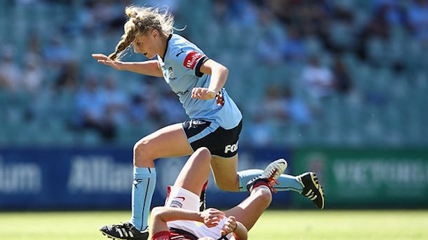 Remy Simeson scored Sydney FC's second goal that secured their win