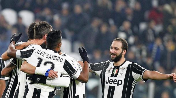 L'esultanza al goal di Mandzukic | Foto: juventus.com
