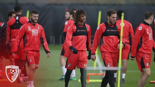 Entrenamiento del Bournemouth. Foto: AFC Bournemouth