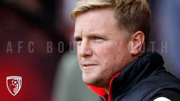 Eddie Howie, entrenador del Bournemouth. Foto: AFC Bournemouth