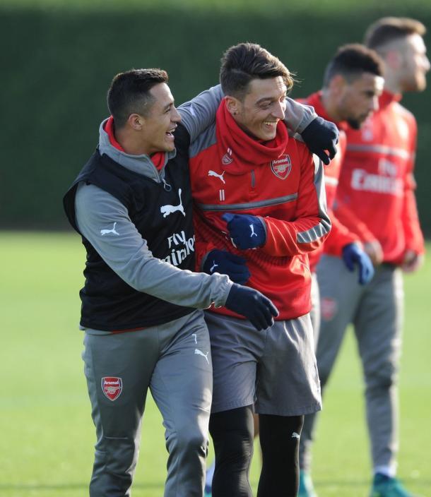 Reina el buen ambiente en el club. Foto: Arsenal FC