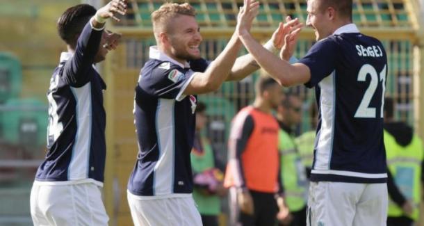 L'ultimo successo esterno della Lazio, a Palermo. Fonte foto: contra-ataque.it