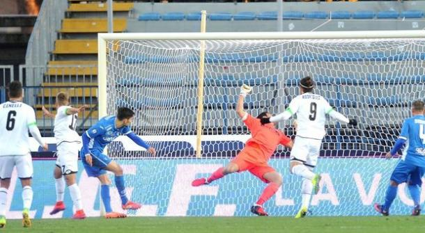 Panico remata a puerta en el 0-1 | Foto: Empoli FC