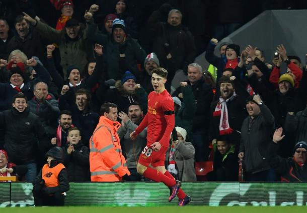 La gioia di Woodburn | Foto: @BBCSport
