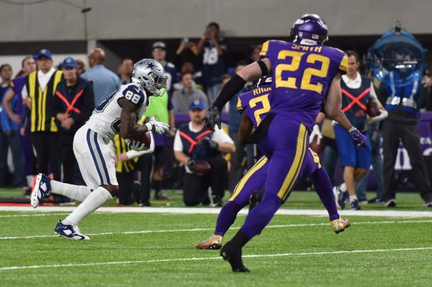 Dez Bryant converted a vital touchdown for the Cowboys | Source: dallascowboys.com