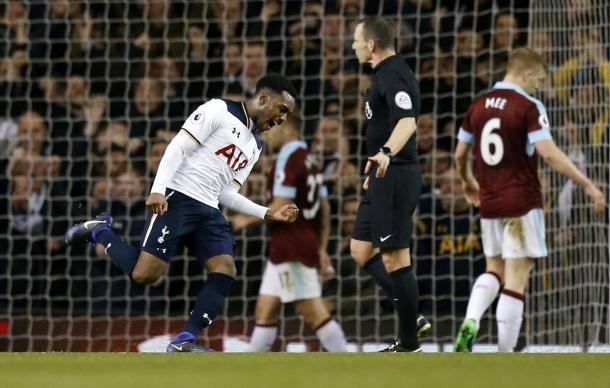 Rose esulta in occasione del gol del 2-1. Fonte foto: premierleague.com