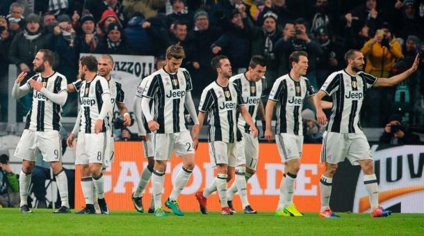 Juventus ancora vincente   Foto: @khaledalnouss1