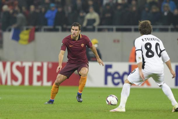 Kevin Strootman in campo | Foto: @OfficialASRoma
