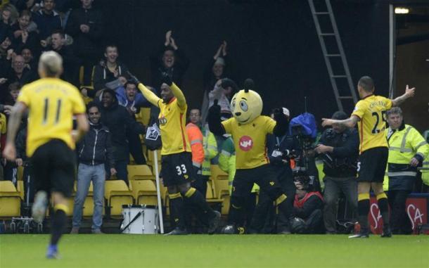 La gioia dei giocatori del Watford | Foto: @premierleague