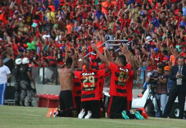 Leão garantiu permanência na elite pelo quarto ano consecutivo (Foto: Williams Aguiar/Sport)
