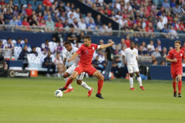 Omar Gonzalez durante el partido ante Panamá | Foto: US Soccer