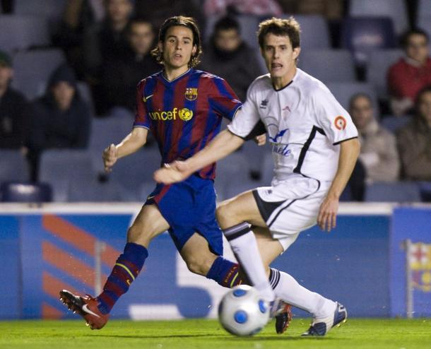 Gai Assulin, en un trance del precedente de 2010. FOTO: FC Barcelona